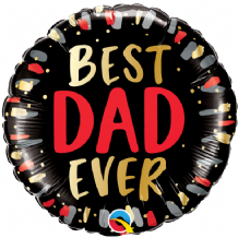 "Best Dad Ever Foil Balloon (18"") 1pc"